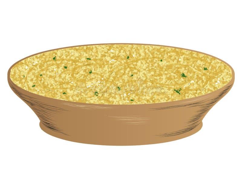 Hummus иллюстрация вектора