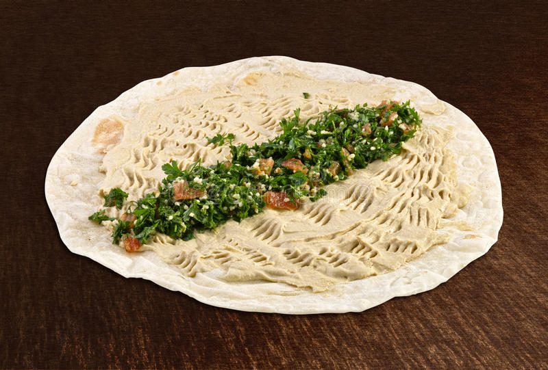Hummus foto de archivo libre de regalías