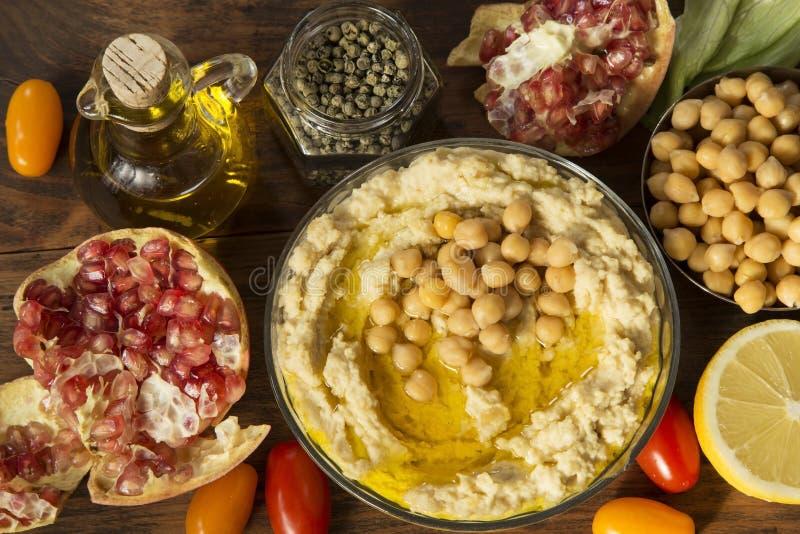 Hummus imágenes de archivo libres de regalías
