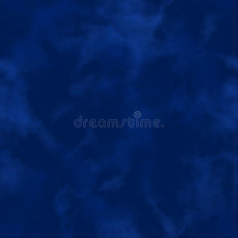 Humo abstracto nubes azul marino Modelo nublado Gas borroso vapor niebla Fondo de niebla de la textura Vector inconsútil libre illustration