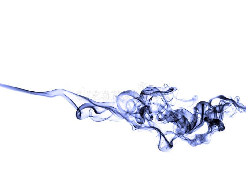 Humo azul ilustración del vector