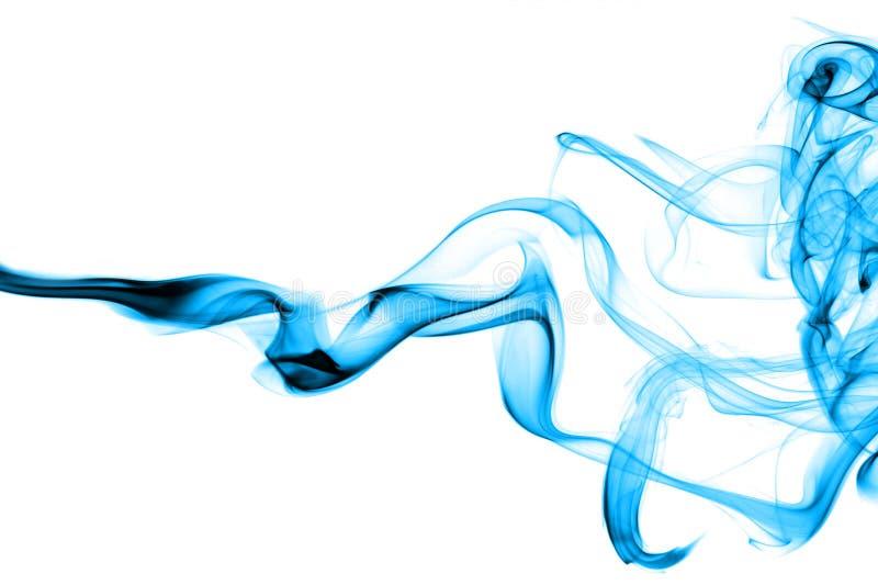 Humo azul abstracto foto de archivo libre de regalías