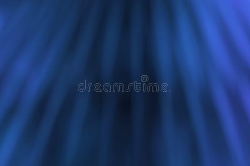 Humo azul de la forma del extracto como efecto de la onda de la nube sobre el fondo negro, fluyendo libre illustration