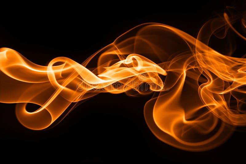 Humo del fuego fotografía de archivo libre de regalías