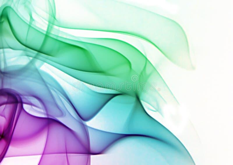 Humo multicolor imagen de archivo libre de regalías