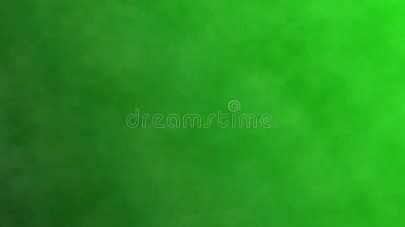 Humo oscuro en una pantalla verde, fondo abstracto ilustraci?n 3D libre illustration