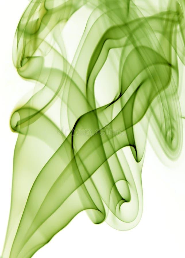 Humo verde stock de ilustración