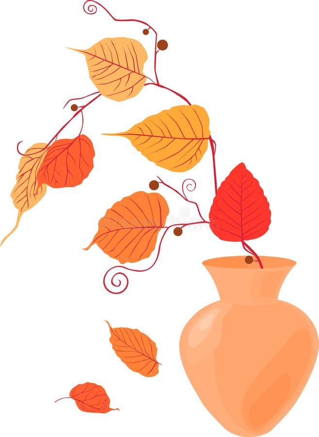 Humor del otoño ilustración del vector