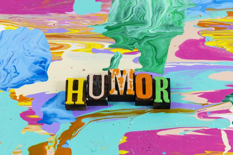 Humor diversão risada rindo sorriso sorriso imagens de stock royalty free