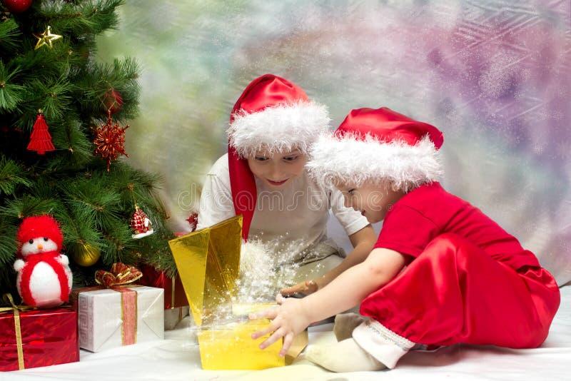 Humor do Natal fotos de stock