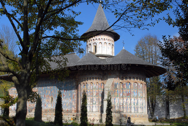 Humor monastery. Architectural monument in Romania stock photography