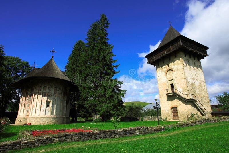 Humor Monastery In Bucovina Stock Image