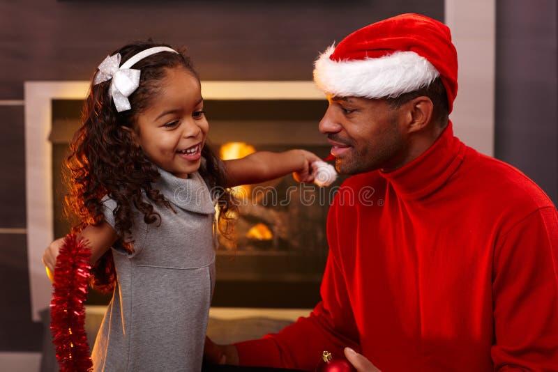 Humores de la Navidad fotografía de archivo