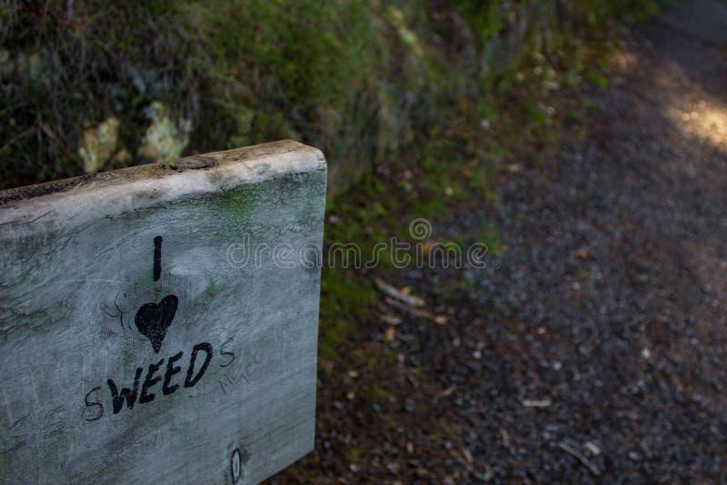 I Hear Sweeds, Paihia, New Zealand stock photo
