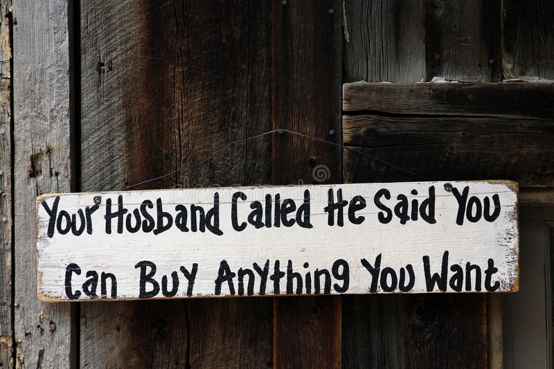 Download Humorous wood sign stock photo. Image of funny, wooden - 43804118