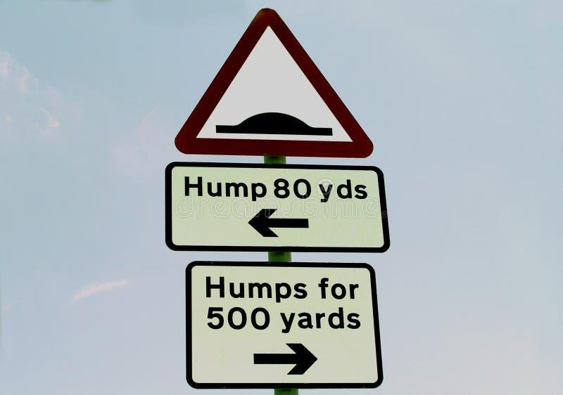 Hump Sign Stock Photos