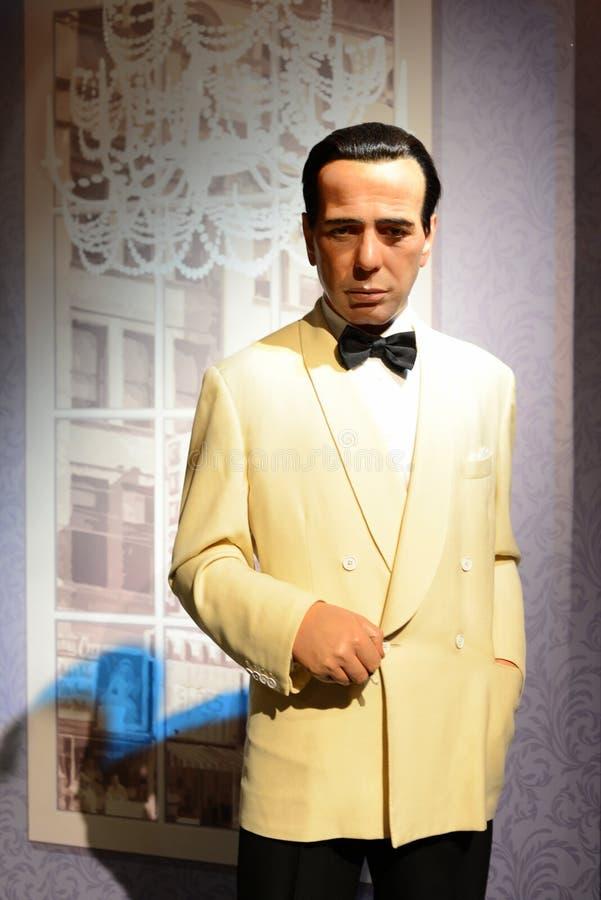 Humpfrey Bogart - Salão das celebridades foto de stock royalty free