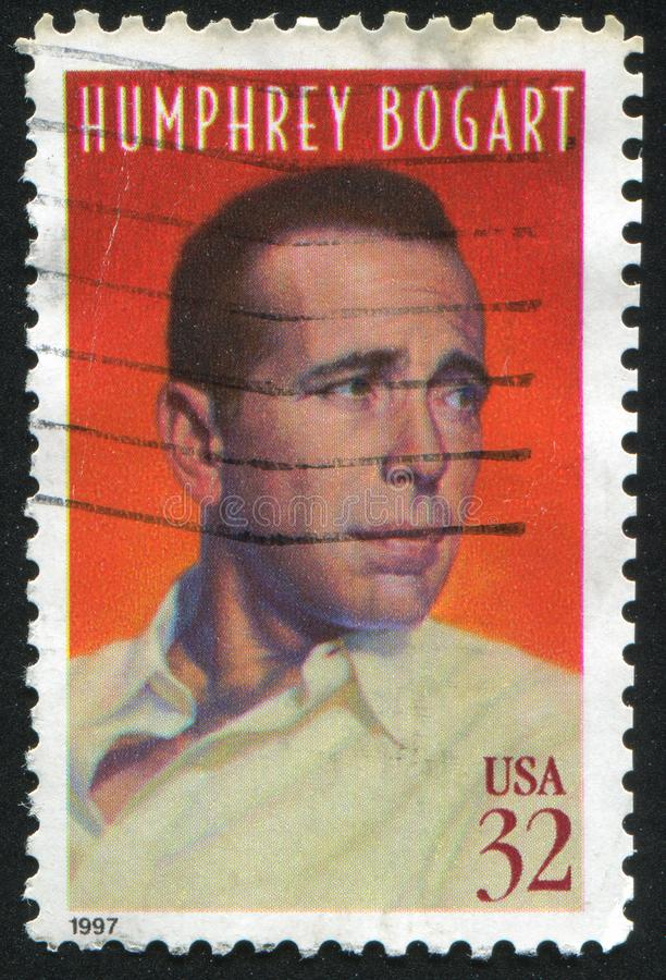 Humphrey Bogart immagine stock libera da diritti