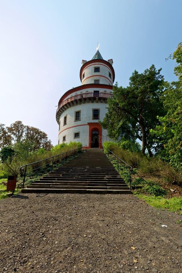 Humprecht-Chateau-Barockschloss Tschechische Republik stockbilder