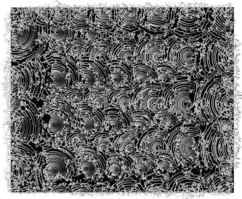 Humpy tekstury, Czarny i biały kolory ilustracja wektor