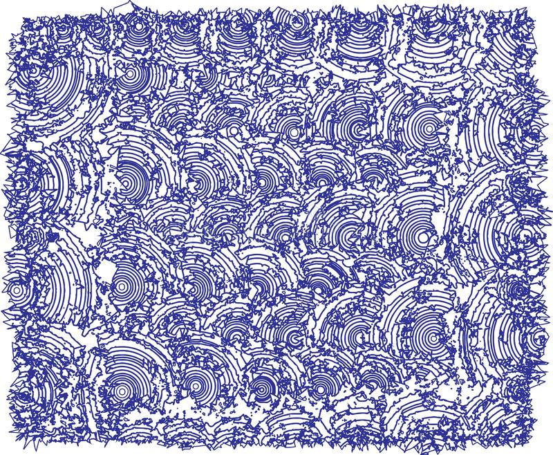 Humpy texturer som är mörka - blåa färger vektor illustrationer