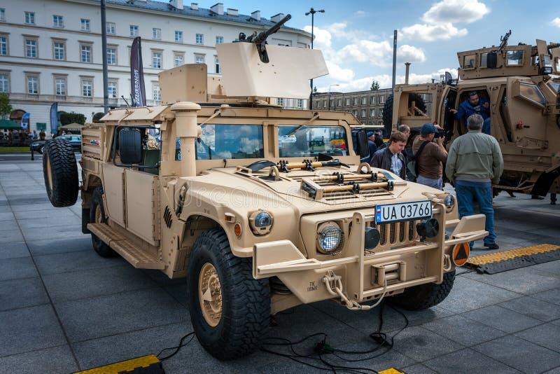 Humvee HMMWV m1165 royaltyfria foton
