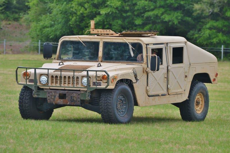 Humvee militar/Hummer/HMMWV imagem de stock