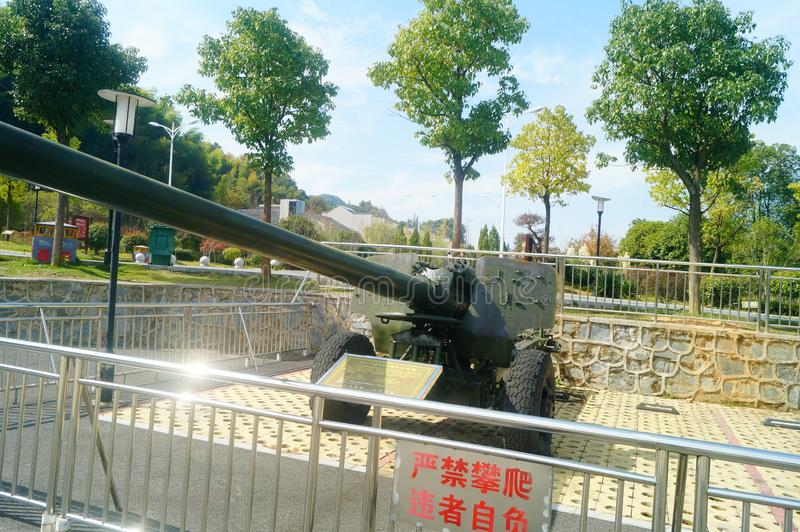 Hunan, China: pasillo conmemorativo del camarada su yu foto de archivo