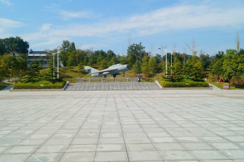 Hunan, China: pasillo conmemorativo del camarada su yu fotos de archivo