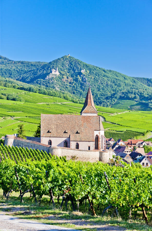 Hunawihr, Alsace Royalty Free Stock Image