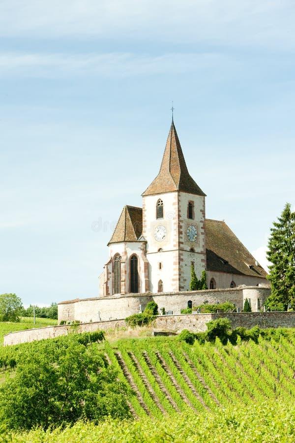 Hunawihr, Alsace, France image libre de droits