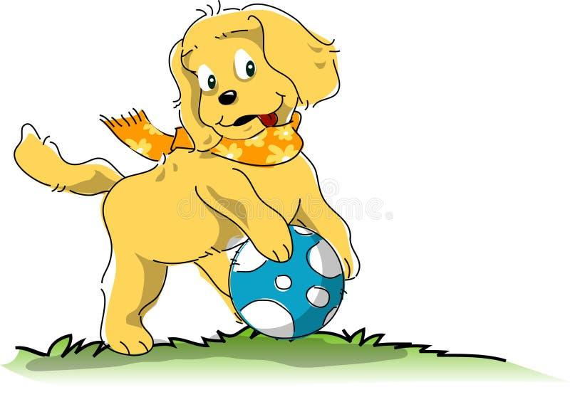 hund royaltyfri illustrationer