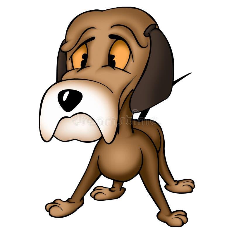 Hund Albert lizenzfreie abbildung