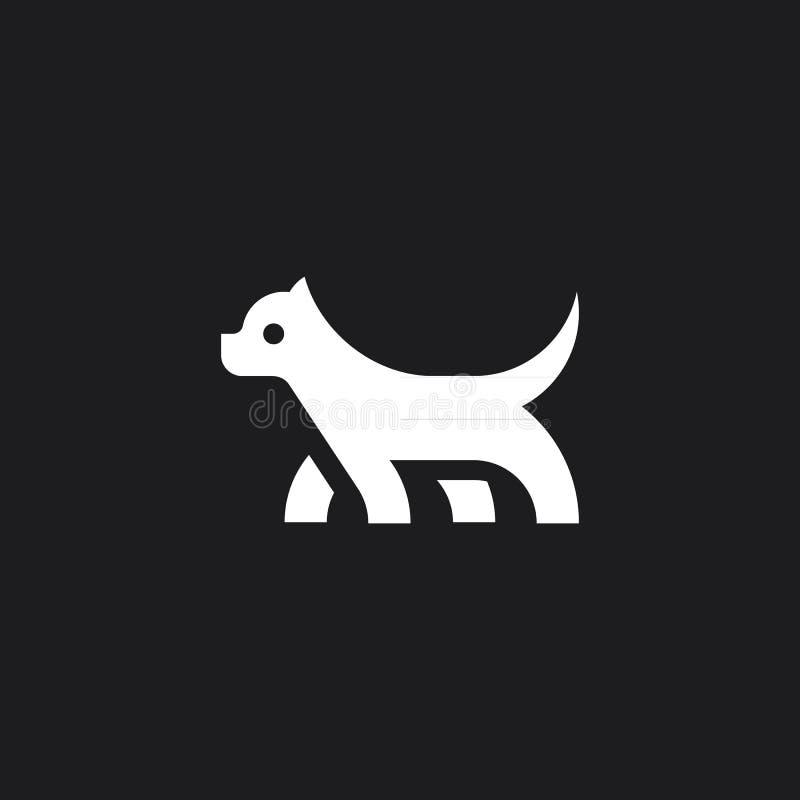 Hund Mark Symbol royaltyfria foton