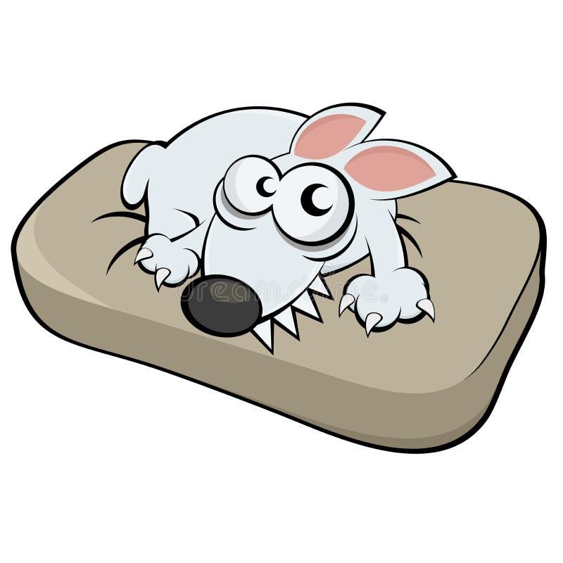 Hund på kudden