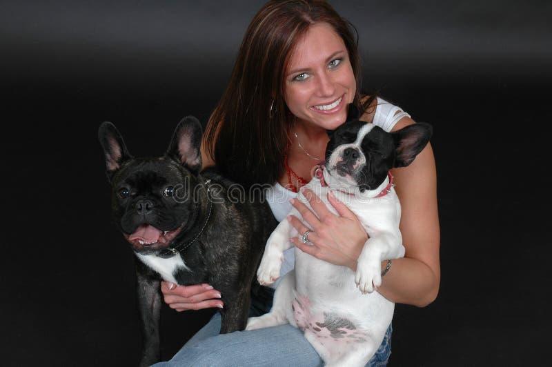 hundar älskar jag mitt royaltyfria bilder