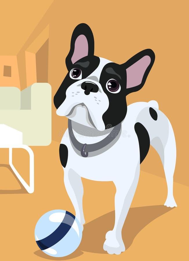 Hundeabbildung lizenzfreie abbildung