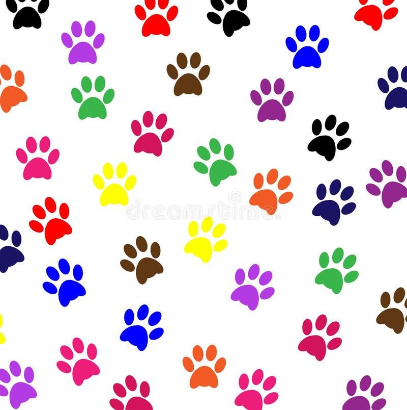 hunden tafsar älsklings- tryck stock illustrationer