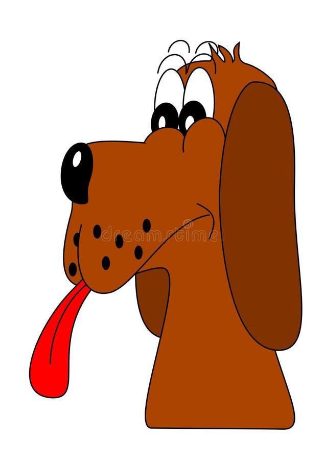 Hundeportrait vektor abbildung