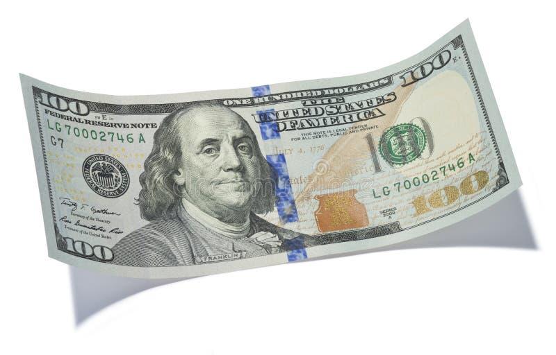 Hundert Dollarschein Stockbild