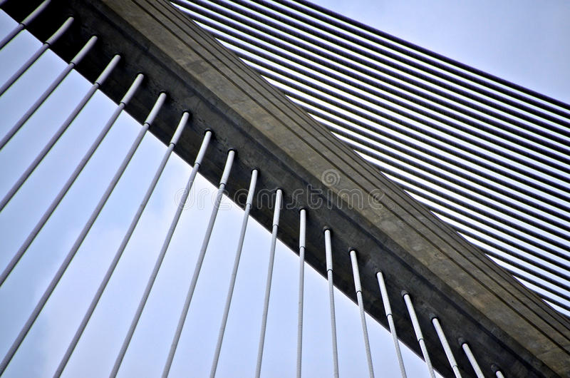 Hundertjähriges Brücken-Detail _DSC6195 Panamas lizenzfreie stockfotos