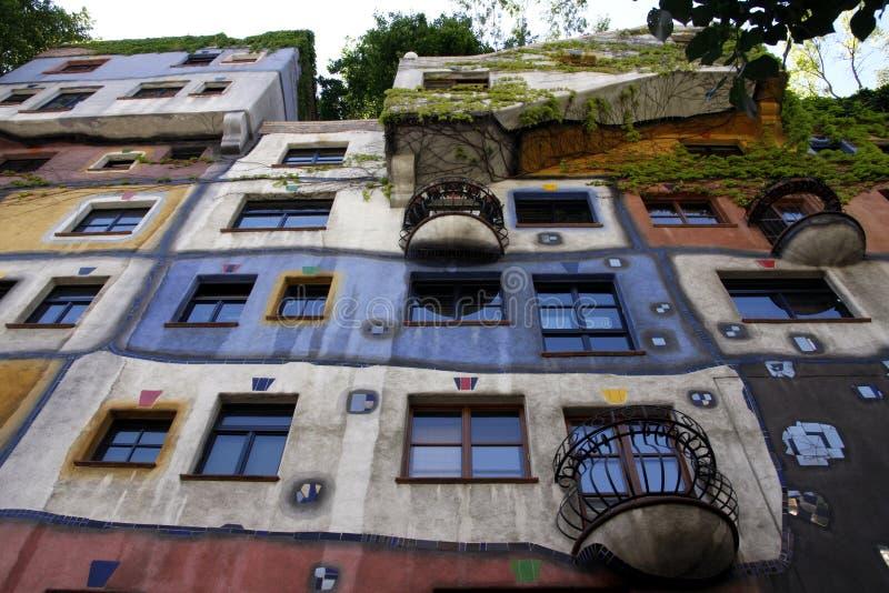 Download Hundertwasser House stock photo. Image of bright, frame - 21884714
