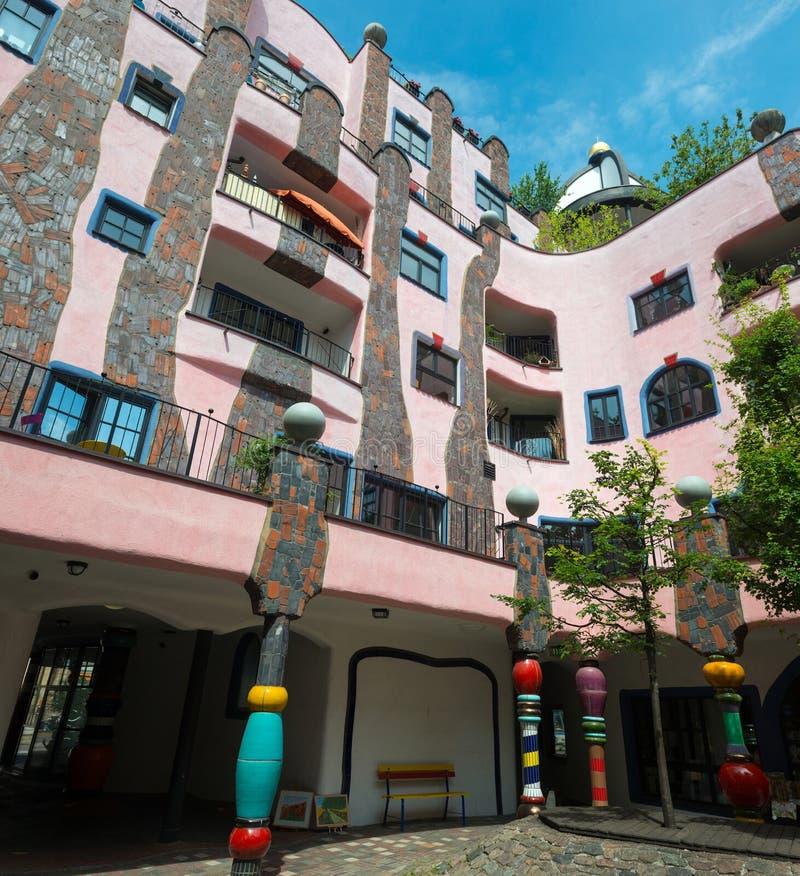 Free Hundertwasser House Royalty Free Stock Images - 60962439