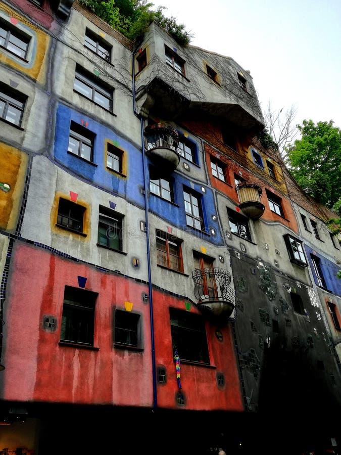 Hundertwasserhaus images stock