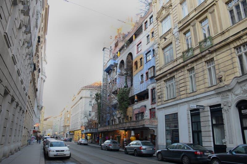 Hundertwasserhaus immagini stock libere da diritti
