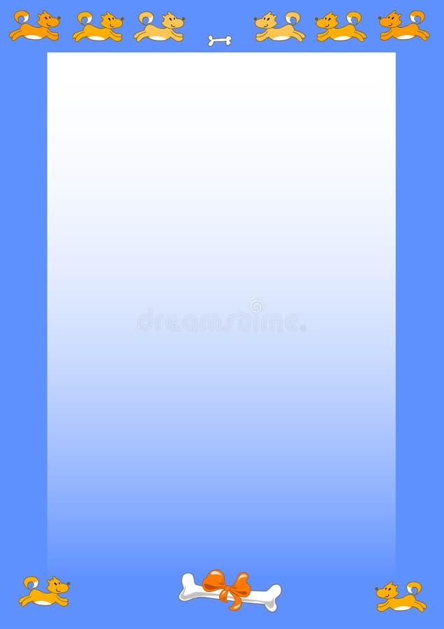 Hundeseite - vectorial Abbildung stock abbildung