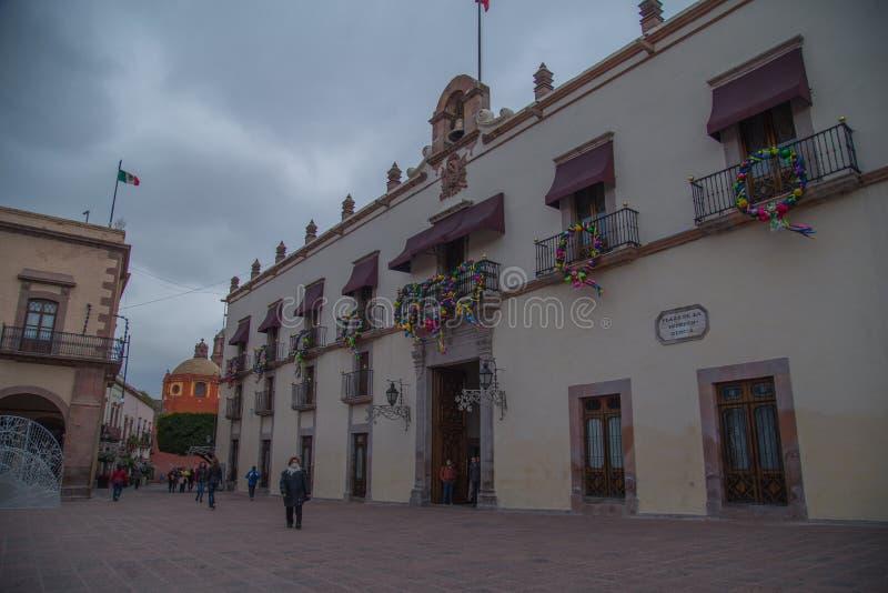 Hundido de quesos madurados en Tequisquiapan, Queretaro, México imagenes de archivo