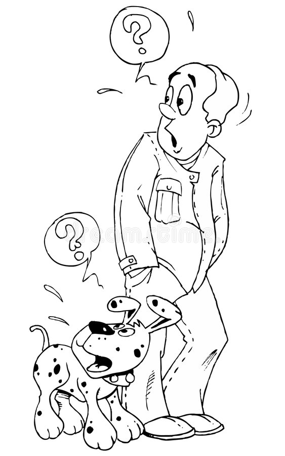 hundman stock illustrationer