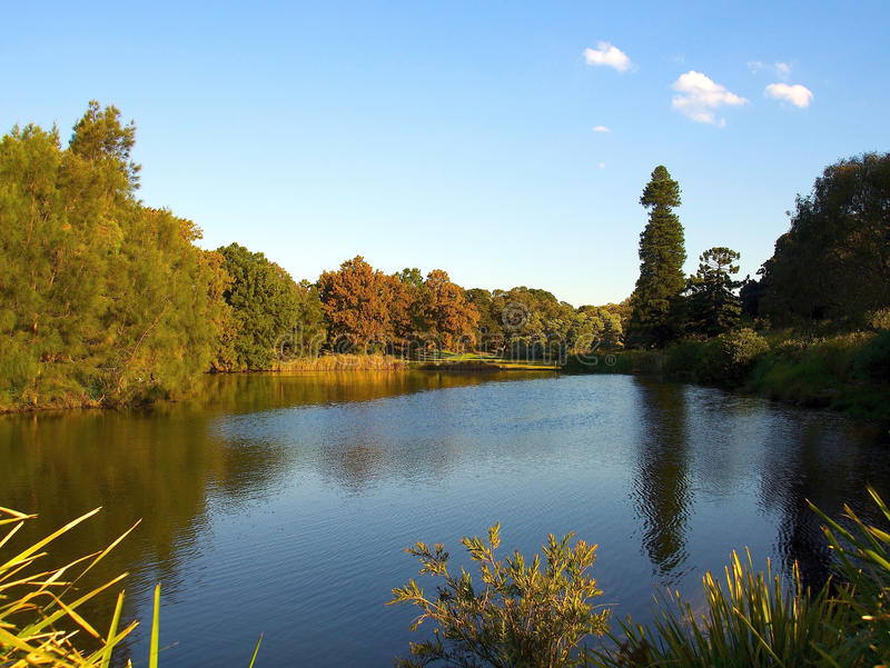 hundraårs- parkstillness sydney arkivbilder