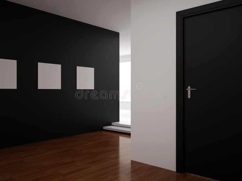 hundra interior ställde in sju trettio vektor illustrationer